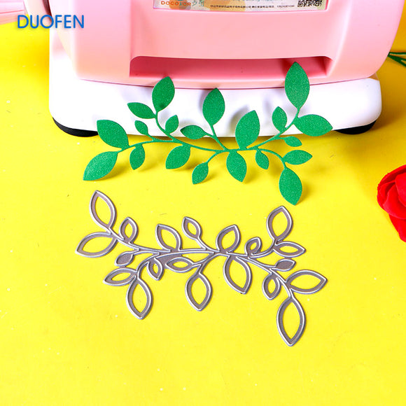1pc leaves branch stencil metal Cutting dies for DIY papercraft projects Scrapbook Paper Album greeting cards paper decorations