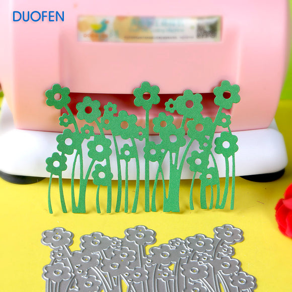 1pc little flowers stencil metal Cutting dies for DIY papercraft projects Scrapbook Paper Album greeting cards paper works deco