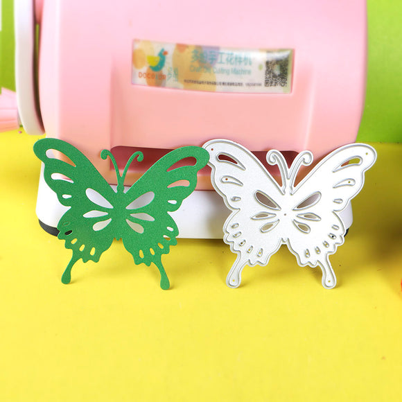 1pc Large Butterflies stencil metal Cutting dies for DIY papercraft projects Scrapbook Paper Album greeting cards paper works