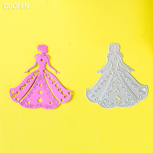 1pc bride wedding stencil metal Cutting die for DIY papercraft projects Scrapbook Paper Album greeting cards paper works deco