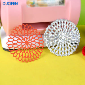 1pc chrysanthemum flower stencil metal Cutting dies for DIY papercraft projects Scrapbook Paper Album greeting cards paper works