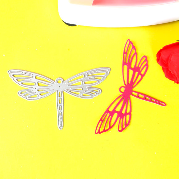 010011S 1pc Small dragonfly stencil metal Cutting dies for DIY papercrafts projects Scrapbook Paper Album greeting cards