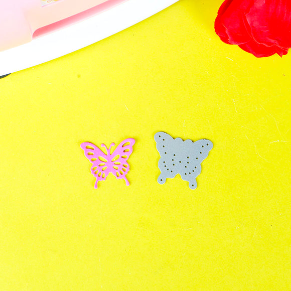 1pc Small Butterflies stencil metal Cutting dies for DIY papercraft project Scrapbook Paper Album greeting card paper works deco