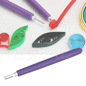 Quilling Creation Origami Quilled Paper Slotted Tool DIY Handcraf Papercraft