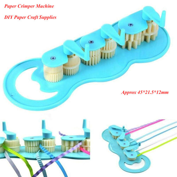 Hot Sale Paper Quilling Crimper Machine  Art Tool Papercraft DIY Scrapbooking Stamping Drop Shipping