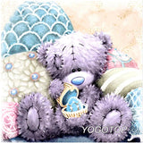 YOGOTOP DIY Diamond Painting Cross Stitch Kit 5D Square Diamond Embroidery Mosaic Patterns Needlework cartoon bear CV341