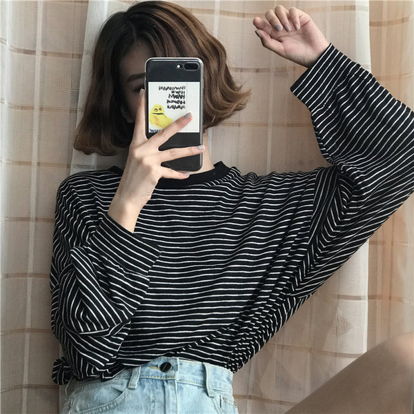 Striped L/S Shirt