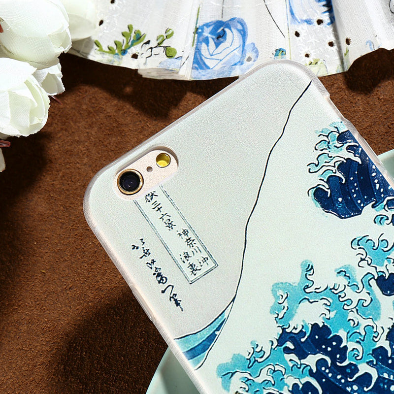 Kanagawa Wave Case (Samsung and iPhone)