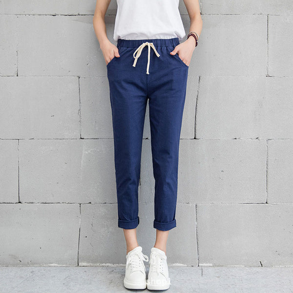 Casual Cotton Linen Pants