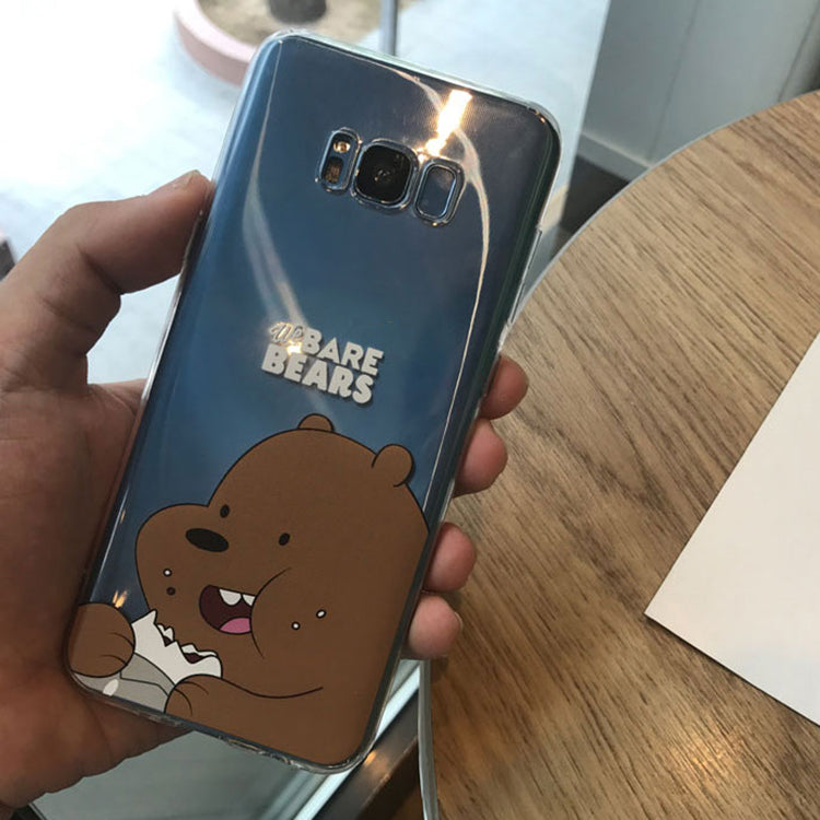Transparent We Bare Bears Case