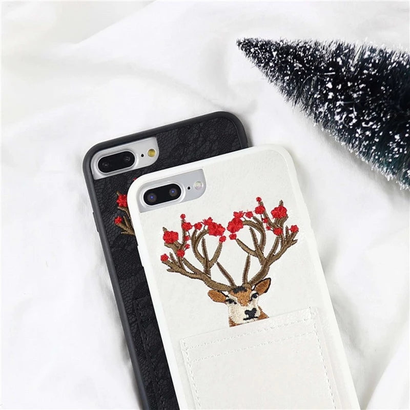 Blooming Deer + Pocket Case