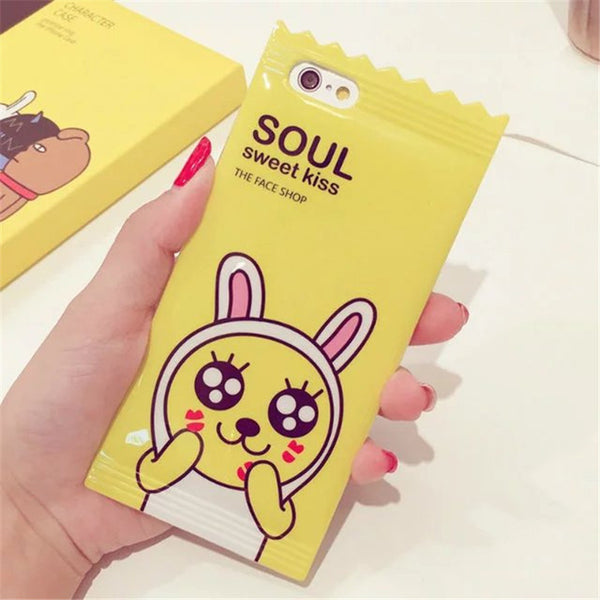 KAKAO FRIENDS THE FACE SHOP iPhone Case