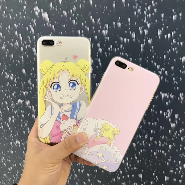Eating / Sleeping Sailor Moon Case