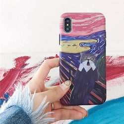 The Scream Cat Case