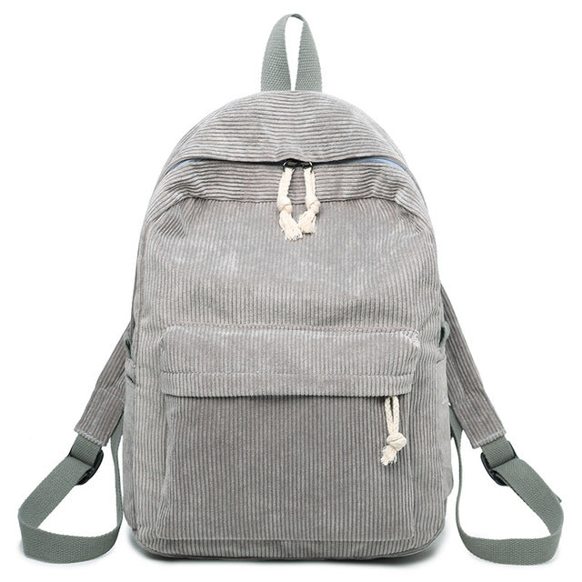 Corduroy Backpack
