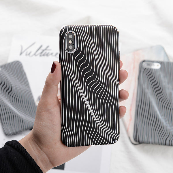 Flowing Striped Case