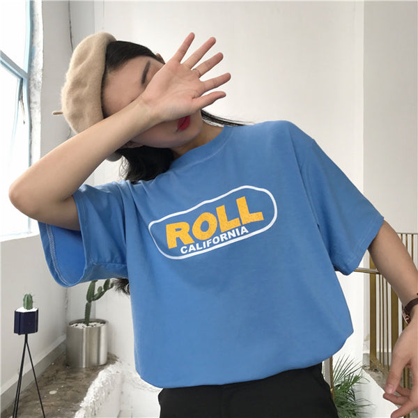 Roll California Tee