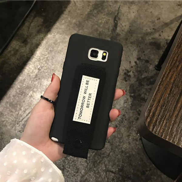 Tomorrow Will Be Better Strap Samsung Case