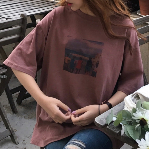 Aesthetic Seaside Tee