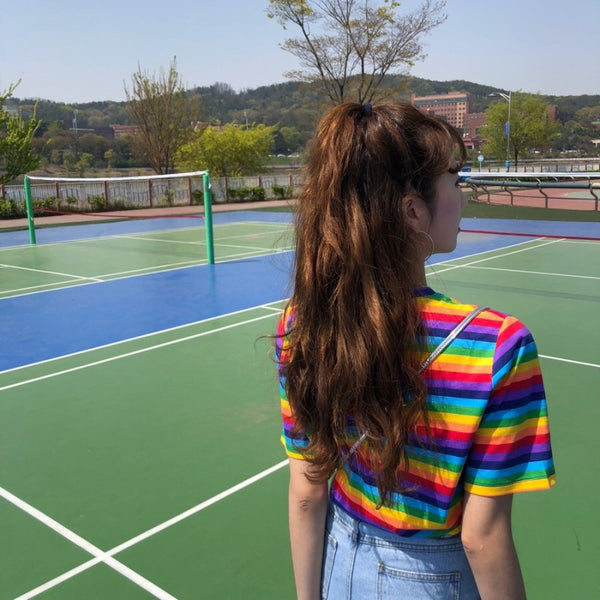 Striped Rainbow T-Shirt