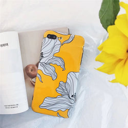 Yellow Petals Case