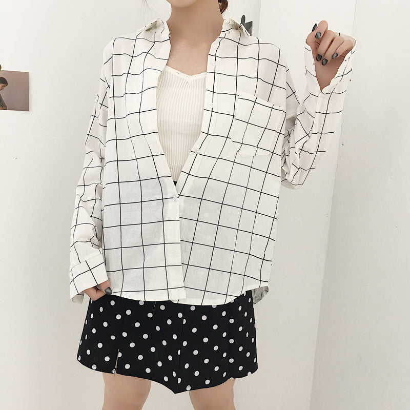 Grid Dress Shirt
