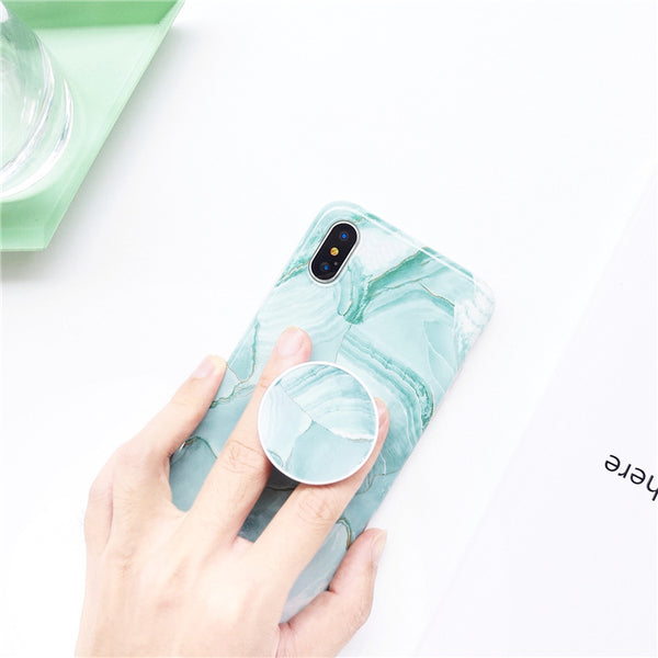 Green Quartz Case + Free Pop Holder
