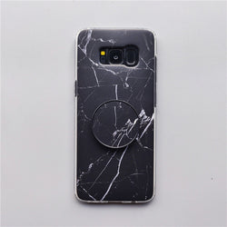 Marble Cases + Free Pop Holder (Samsung)