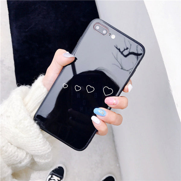 Glossy Heart Bubbles Case