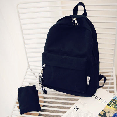 Strap Backpack + Pouch