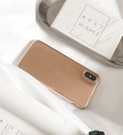 Reflective Case (Rose Gold / Silver)