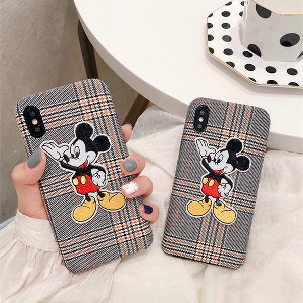 Mouse Plaid Case