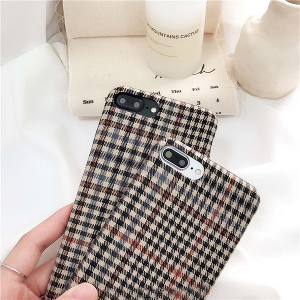 Lattice Plaid Case