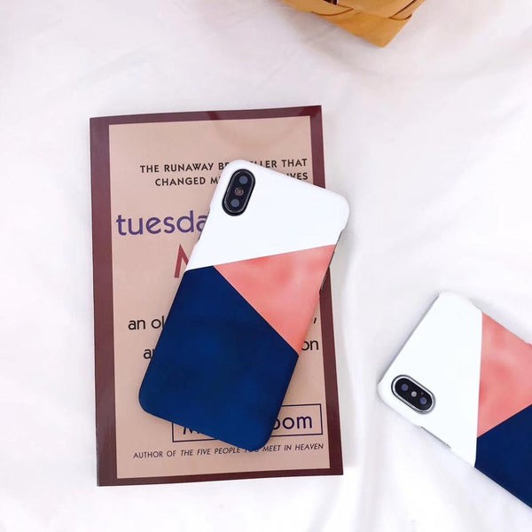 Faded Colour block Case
