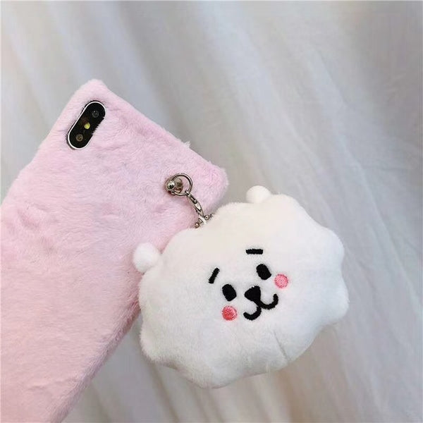 Plush BT21 RJ/Shooky Case