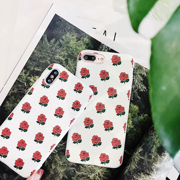 Cartoon Rose Cases