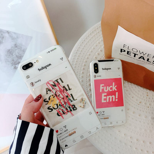 DIY IG Border Case (Fill Your Own Photo)