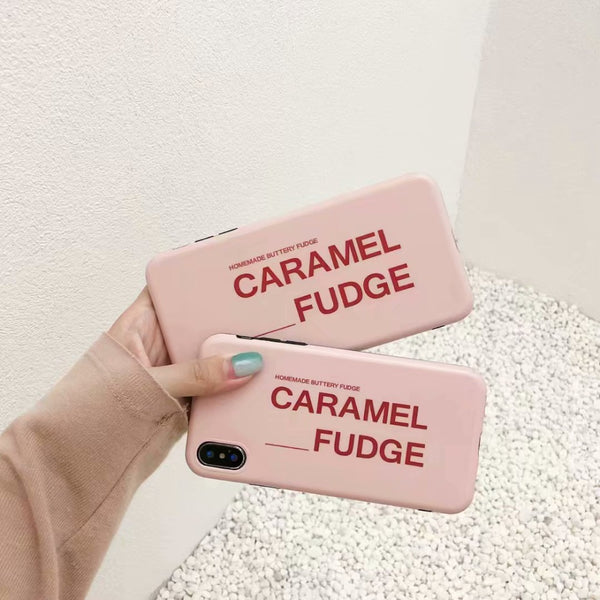 Caramel Fudge Case