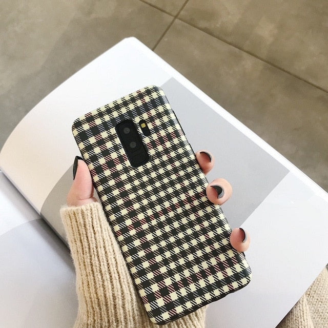 Plaid Case (Samsung)