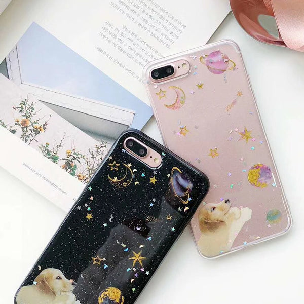 Golden Galactic Cases (Puppy Ver)