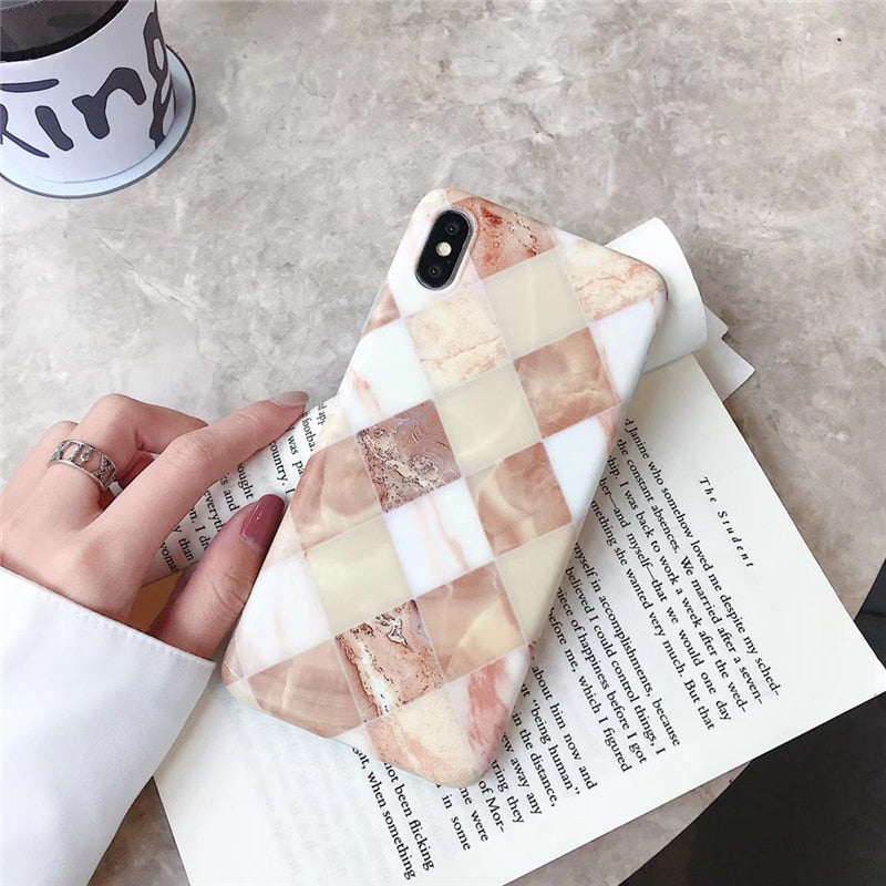 Squared Marble Case