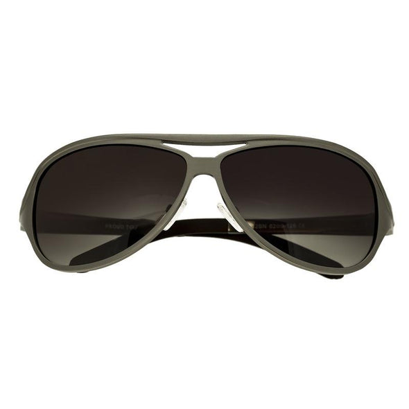 Breed Langston Aluminium Polarized Sunglasses - Brown/Brown BSG012BN