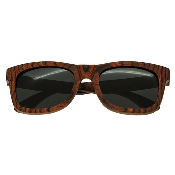 Spectrum Peralta Wood Polarized Sunglasses - Orange/Black SSGS103BK