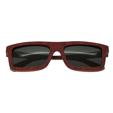 Spectrum Clark Wood Polarized Sunglasses - Cherry/Black SSGS119BK