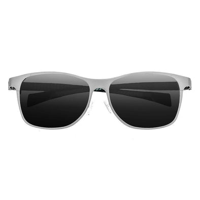 Breed Templar Titanium Polarized Sunglasses - Silver/Black BSG035SR