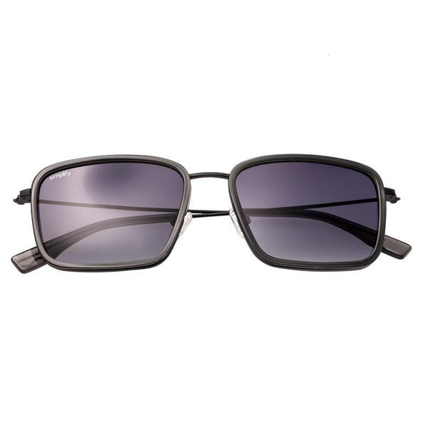 Simplify Parker Polarized Sunglasses - Grey/Black SSU103-GY