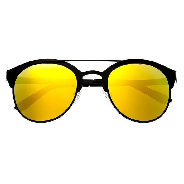 Breed Phoenix Titanium Polarized Sunglasses - Black/Yellow BSG036BK