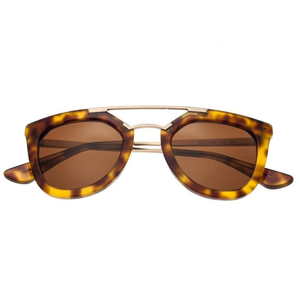 Bertha Ella Polarized Sunglasses - Tortoise/Brown BRSBR010T