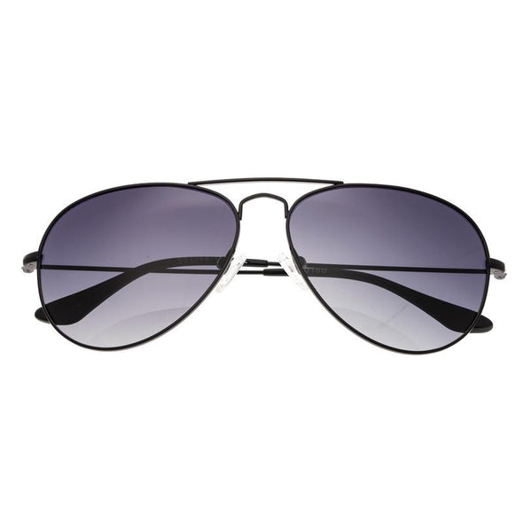 Bertha Brooke Polarized Sunglasses - Black/Black BRSBR018B
