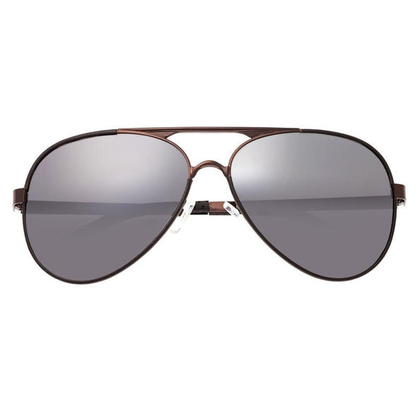 Breed Genesis Polarized Sunglasses - Brown/Black BSG046BN